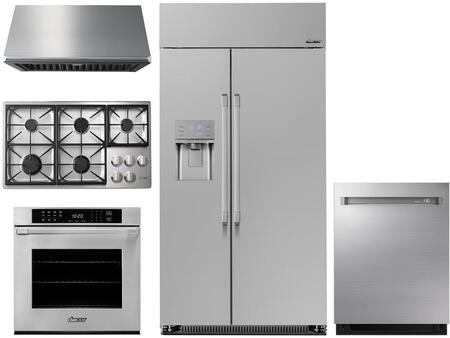 Dacor  1057010 Kitchen Appliance Package Stainless Steel, Main image