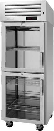 PRO-26-2H-G-L 29″ Pro Series Left Hinged Glass Half Door Heated Cabinet with 24.8 cu. ft. Capacity  Digital Temperature Control & Monitor System