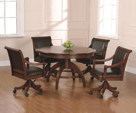 Hillsdale Furniture Palm Springs 4185GTBC Combination Game Table Brown, 1