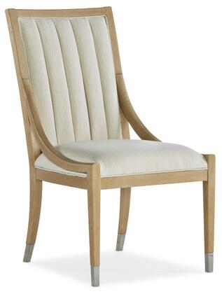Hooker Furniture Novella 59407541080 Accent Chair Beige, Silo Image