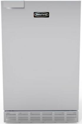 Sunstone  SAPFR21PRO Compact Refrigerator Stainless Steel, SAPFR21PRO Outdoor Compact Refrigerator