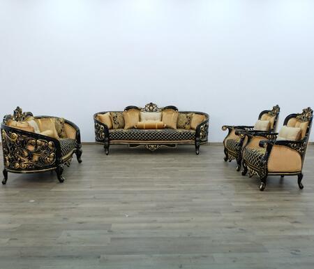 European Furniture 30019slc Vintage, Bellagio Furniture Collection