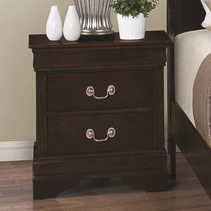 Coaster Louis Philippe 202412 Nightstand Brown, Main Image