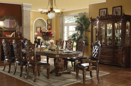 Acme Furniture Vendome 600008CHCB Dining Room Set Brown, 1