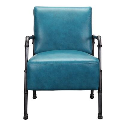 Moes Home Collection Royce PK103726 Accent Chair Blue, PK 1037 26