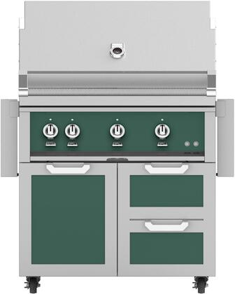 Hestan  851533 Natural Gas Grill Green, Main Image