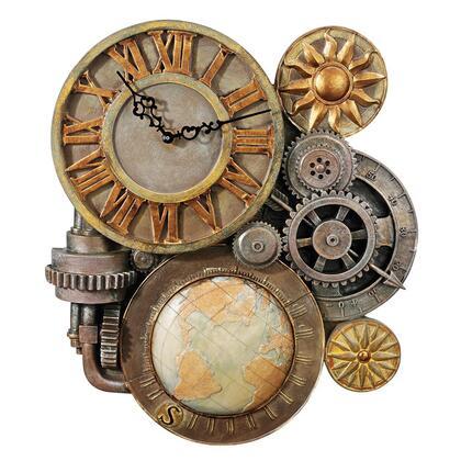Design Toscano  NG33981 Wall Clocks , NG33981 1