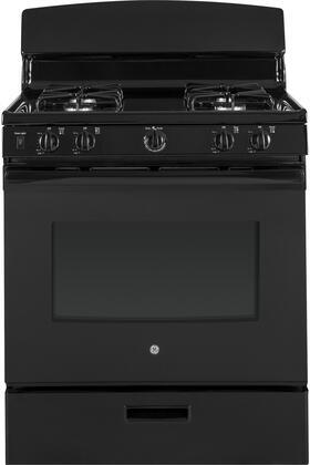 GE  JGBS30DEKBB Freestanding Gas Range Black, Main Image