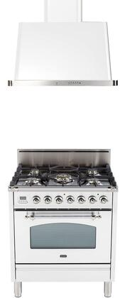 Ilve  1312659 Kitchen Appliance Package White, Main Image