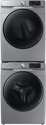 Samsung  1154685 Washer & Dryer Set Platinum, 1
