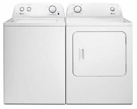 Amana  729803 Washer & Dryer Set White, AmanaNTW4516FWKIT