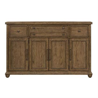 Liberty Furniture Harvest Home 779HB7246 Dining Room Buffet Brown, Main Image