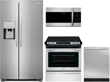 Frigidaire  1133853 Kitchen Appliance Package Stainless Steel, main image