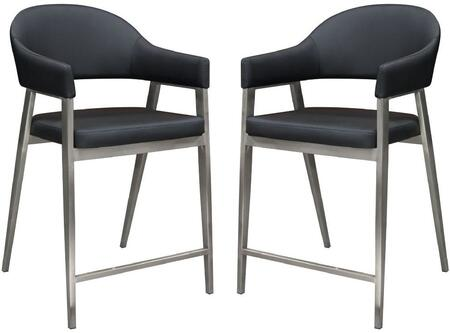 Adele_Collection_ADELESTBL2PK_Set_Of_2_Counter_Height_Chairs_with_Brushed_Stainless_Steel_Leg__Leatherette_Upholstery_and_Seat_Height_of_24_Inches_in