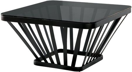 Furniture of America Winnie CM4109BKC Coffee and Cocktail Table Black, Main Image