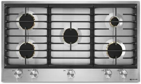 Jenn-Air JGC3536GS Gas Cooktop Stainless Steel, JGC3536GS Euro-Style 36-Inch 5 Burner Gas CookTop