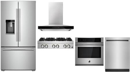 Jenn-Air 1125527 Kitchen Appliance Package & Bundle Stainless Steel, Main image