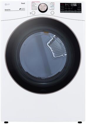 LG  DLEX4000W Electric Dryer White, DLEX4000W Front Load Dryer