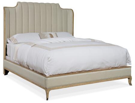 Hooker Furniture Novella 59409086680 Bed Beige, Silo Image