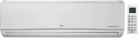 LG LSN180HEV1 Mini Split Indoor Unit White, Front View
