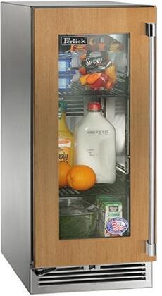 """HP15RS-4-4LL 15"""" Signature Series Indoor Compact Refrigerator with 2.8 cu. ft. Capacity LED Lighting Full Extension Shelves Door Lock and Left"""