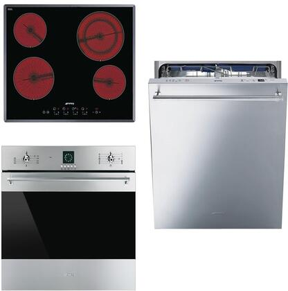 Smeg 890644 Kitchen Appliance Package & Bundle Stainless Steel, 1
