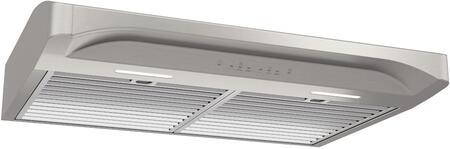ALT330SS 30″ Alta Series Convertible Under Cabinet Range Hood with 400 CFM  Heat Sentry  Hybrid Baffle Filters and LED Lighting in Stainless