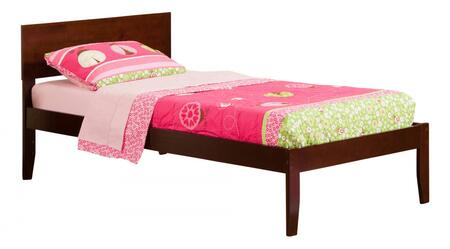 Atlantic Furniture Orlando AR8111034 Bed Brown, AR8111034