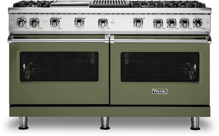 Viking 5 Series VGR5606GQCY Freestanding Gas Range Green, VGR5606GQCY Gas Range