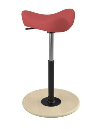 Varier Move Small MOVESMALL2700STEELCUTTRIO2553NATHIBLK Office Stool, Main Image