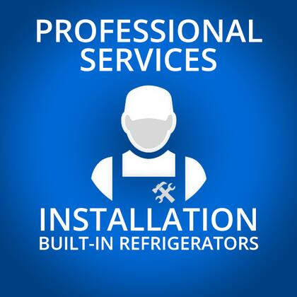 Professional Service BUILTINFRIDGEINSTALL