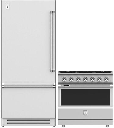 Hestan  1045201 Kitchen Appliance Package Stainless Steel, main image