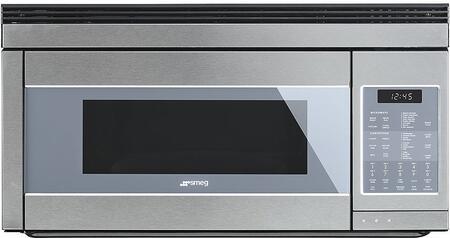 Smeg OTR111SU Over The Range Microwave Stainless Steel, Main Image