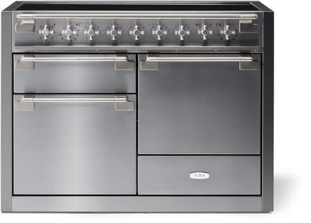 AGA Elise AEL481INSS Freestanding Electric Range Stainless Steel, AEL481INSS Induction Range