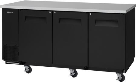 TBB-24-72SB-N6 74″ Super Deluxe Series Narrow Back Bar with 20.62 cu. ft. Capacity  Hydrocarbon Refrigerants  Forced Air Cooling System and LED