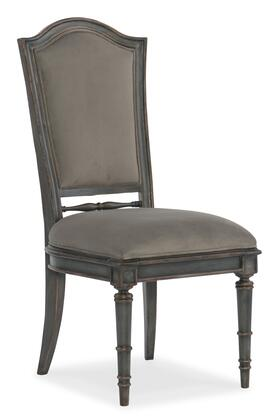 Arabella Collection 1610-75410-GRY Upholstered Back Side