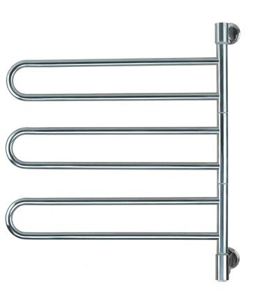 Amba Swivel JB003P Towel Warmer Silver, Main Image