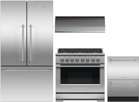 Fisher Paykel 1125140 Kitchen Appliance Package & Bundle Stainless Steel, main image