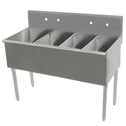 Advance Tabco Budget Line 400 4448 Commercial Sink Stainless Steel, 4 Compartment Main Image