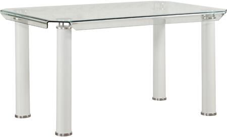 Acme Furniture Gordie 70260 Dining Room Table White, Dining Table