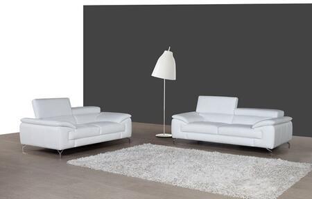 J and M Furniture A973 1790611SL Living Room Set White, main image