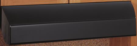 GE Profile JV635HBB Under Cabinet Hood Black, 1