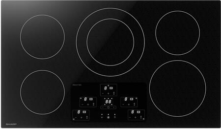 Sharp SDH3652DB Induction Cooktop Black, SDH3652DB Induction Cooktop