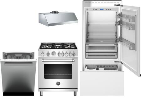 Bertazzoni 1054918 Kitchen Appliance Package & Bundle Panel Ready, Main image