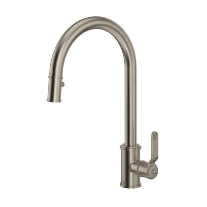 Rohl Armstrong U4544HTSTN2 Faucet, Armstrong+Pull+Down+Single+Handle+Kitchen+Faucet