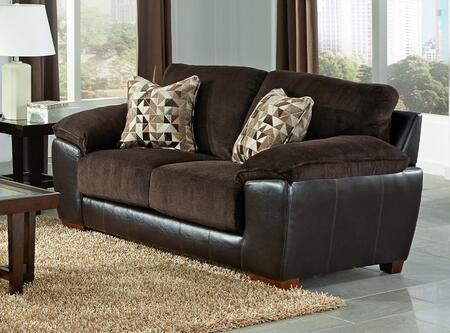 Jackson Furniture Pinson 439802162209116689 Loveseat Brown, Main Image