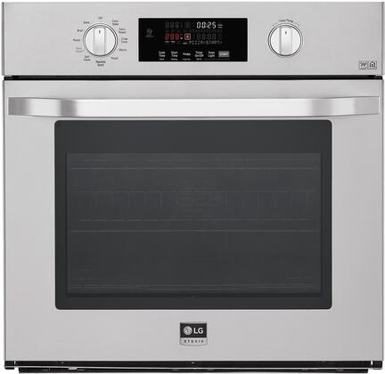 LG Studio  LSWS307ST Single Wall Oven Stainless Steel, 1