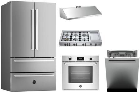Bertazzoni 1054808 Kitchen Appliance Package & Bundle Stainless Steel, main image