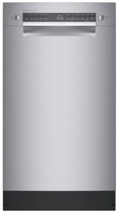 "Bosch 300 Series SPE53B55UC Built-In Dishwasher Stainless Steel, SPE53B55UC 18"" Dishwasher"