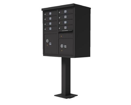 Qualarc CBU8BZ Mailbox Accessories, CBU 8 BZ